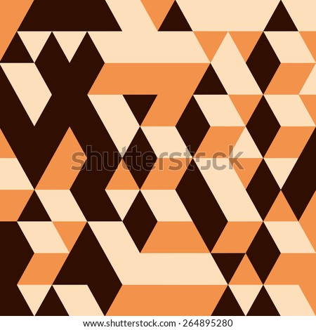 3d blocks structure background. Vector illustration. Background for business presentation. - stock vector