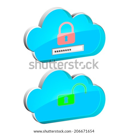 3D cloud service enter password