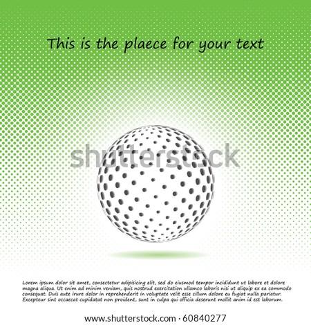 3d globe vector design - stock vector