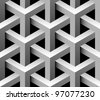 3d industrial seamless pattern - stock vector