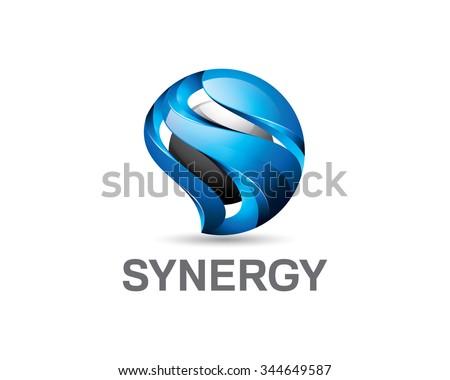 S Logo 3d 3d Logo Stock Images, ...