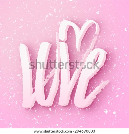 3 d love message made snowflakes snow stock vector 294690803 3d love message made of snowflakes snow letters cd cover design valentines day m4hsunfo