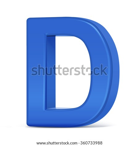 The Letter D In Blue | www.pixshark.com - Images Galleries ...