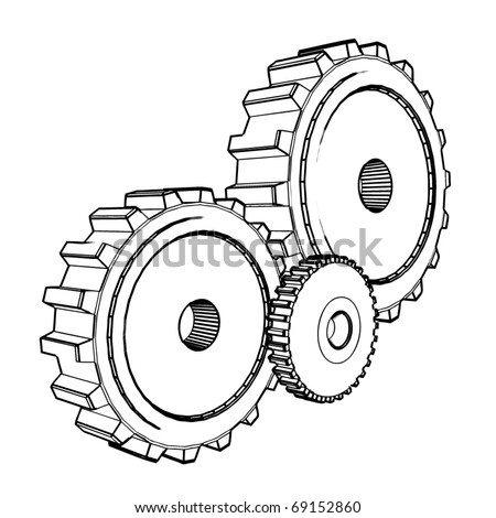Hollywood Style Stage Props Easy Method moreover Creating Gears In Tikz likewise Tatouage Serpent together with 3d Gear Drawings together with Search Vectors. on simple gear drawing