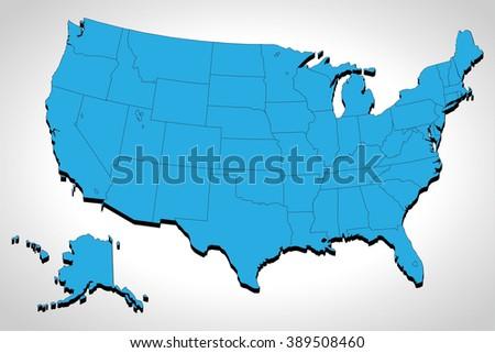 3d united states map source nasa gov