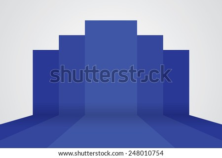 3d vector studio backdrop background