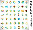 49 design elements - creative symbols collection - stock