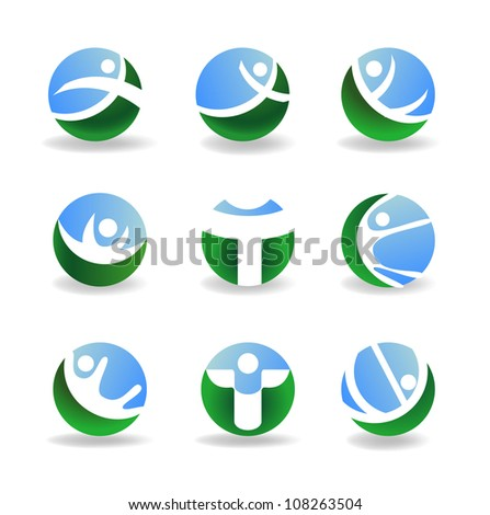 Design elements, vector illustration - stock vector
