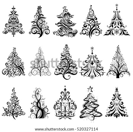 15 designs in one file. To create holiday cards, backgrounds, ornaments, decoration