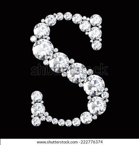 Z Alphabet In Diamond Letter in Diamond Diamond Letters With Gemstones