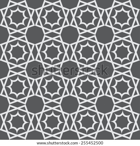 10 different arabic seamless patterns,  Pattern Swatches, vector, Endless texture can be used for wallpaper, pattern fills, web page,background,surface - stock vector
