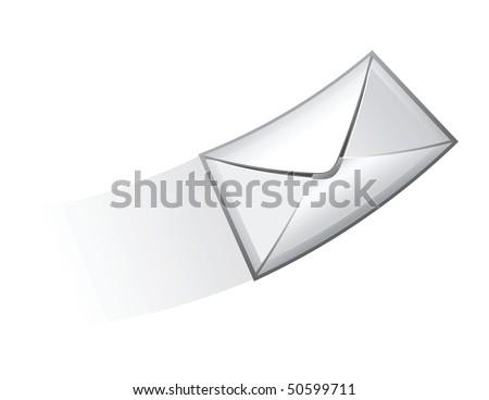 e-mail vector icon - stock vector