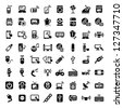 64 Electronic Devices Icons Set for web and mobile. All elements are grouped. - stock vector