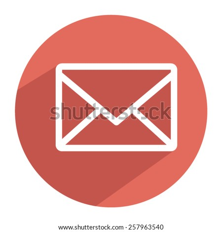 email icon Vector EPS 10 illustration. - stock vector