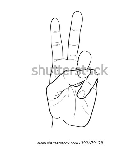 Hand Sketch Drawing Two 442502464 moreover Baring Art Perspective Life Drawing Model together with 138005654 Shutterstock likewise 64983970 Shutterstock Fusilli Pasta Salad On A Fork also Stock Photo Simple Black And White Open Hand Line Drawing. on gesture drawing tool