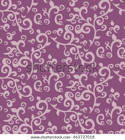 floral pattern, vector, abstract,purple