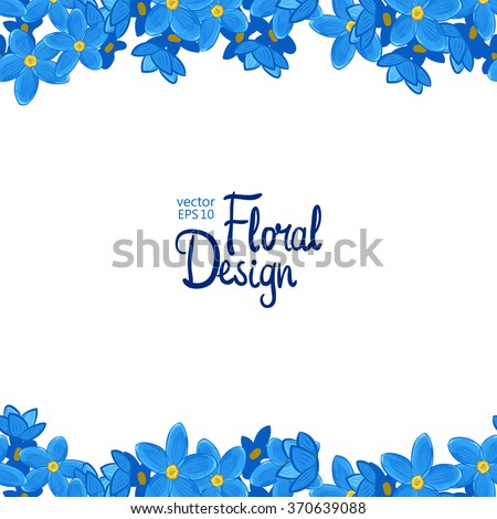 forget me not stock images royalty free images vectors shutterstock. Black Bedroom Furniture Sets. Home Design Ideas