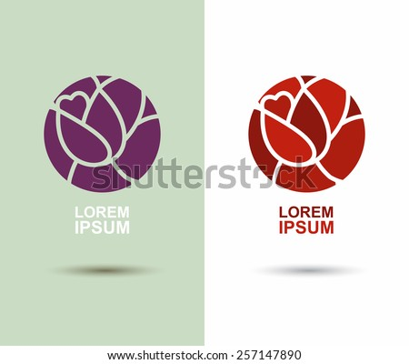 Flower Logo Stock Images Royalty Free Images Amp Vectors Shutterstock