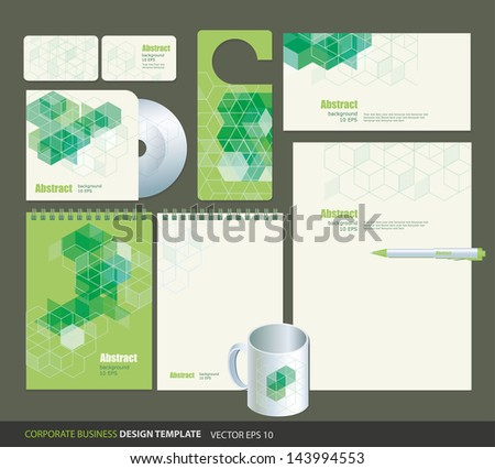 green geometric backgrounds