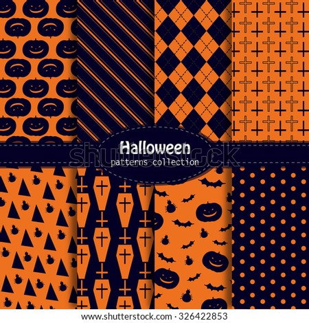 8 halloween patterns