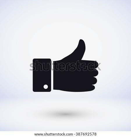 hand. good vector  - stock vector