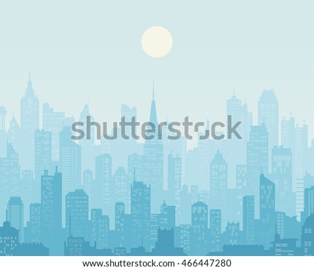 background of a city