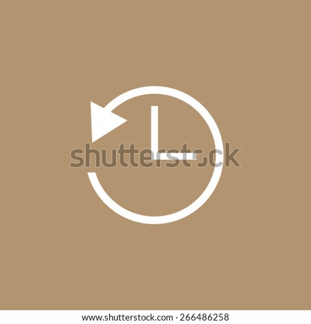 24 hour assistance, clock Icon  - stock vector