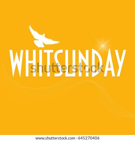 Illustration dove silhouette christian holiday pentecost stock illustration with a dove silhouette christian holiday of pentecost also known as whitsun whitsunday m4hsunfo