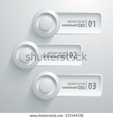 infographics banner design template. abstract number line background. infographics banner  - stock vector