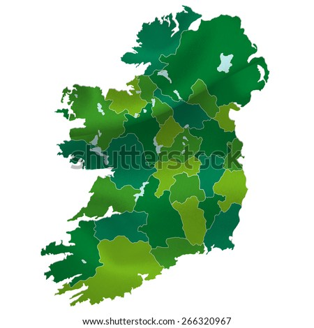 Ireland map country