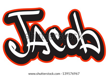 Jacob name images galleries with a bite for Name style design