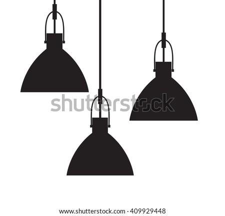 icon lighting. Lamp Icon Eps10 Lighting