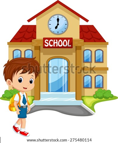Cartoon School Boy Stock Images, Royalty-Free Images ...