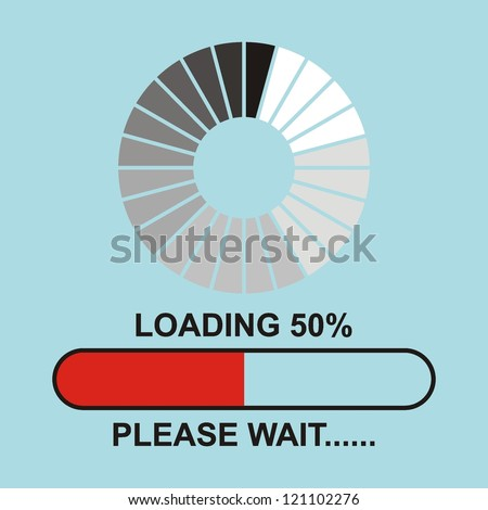 Loading, Streaming, Buffering, Play, Go. please wait...