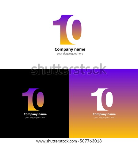 10 Logo Icon Flat Vector Design Stock Vector 507762667 - Shutterstock