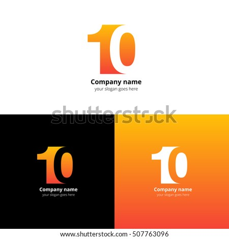 10 Logo Icon Flat Vector Design Stock Vector 507763096 - Shutterstock