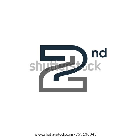 Number 2 stock images royalty free images vectors shutterstock 2 logo number minimal line vector logo template pronofoot35fo Image collections