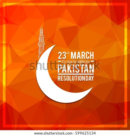 23rd march pakistan day celebration Download royalty-free 23 march pakistan day celebration card creative a  beautiful background for independence day happy pakistan's.