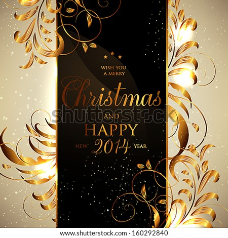 Merry Christmas and Happy New Year Card Seamless Wallpaper, Vector Background, Silk. White. - stock vector