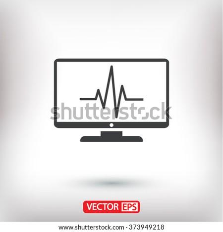 monitoring  icon,  monitoring  vector icon,  monitoring  icon illustration,  monitoring  icon eps,  monitoring  icon jpeg,  monitoring  icon picture,  monitoring  flat icon,  monitoring  icon design - stock vector