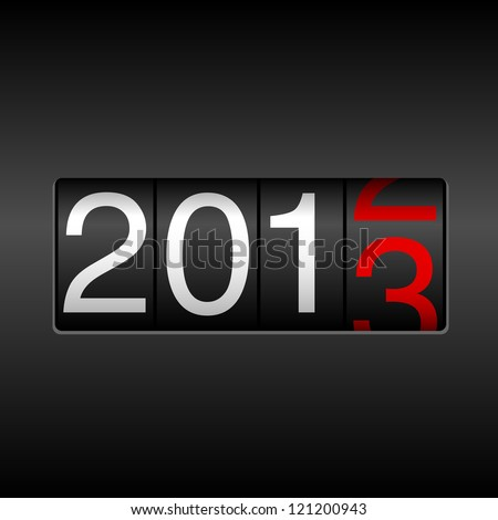 New Year 2013 (PNG) | PSDGraphics