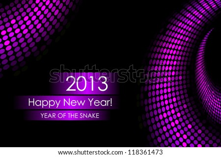 "2013 new year - ""snake"" background"