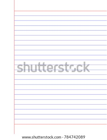 note book study notepad notebook white sheet paper school line pad write business page design