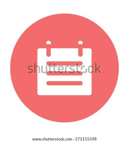 Notepad Vector Illustration  - stock vector