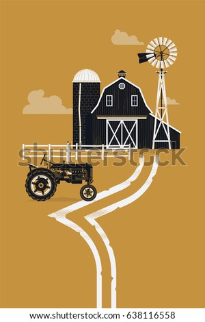 silo stock images, royalty-free images & vectors   shutterstock - Barns Coloring Pages Farm Silos