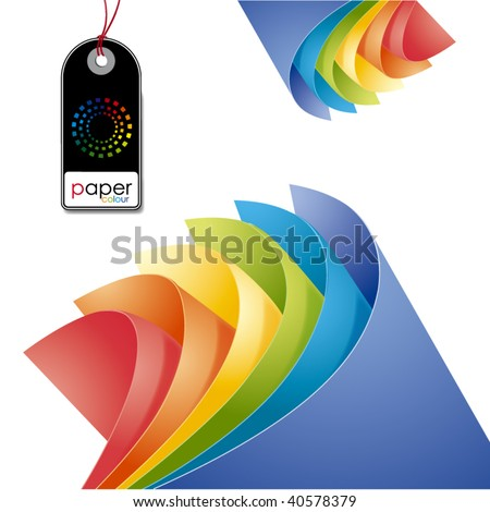 ''paper colour 1'' - stock vector