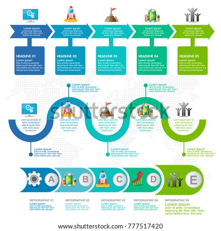 7 parts infographic flow chart marketing stock vector royalty free 7 parts infographic flow chart and marketing icons can be used for workflow layout diagram ccuart Image collections