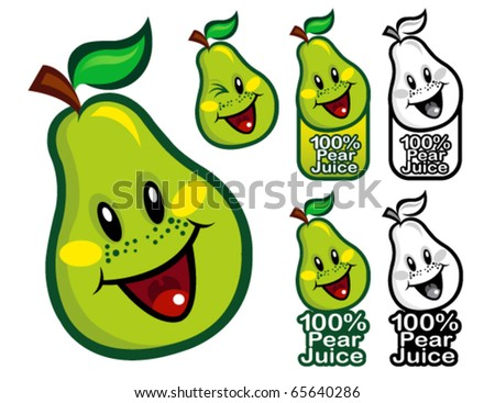 100% Pear Juice Seal