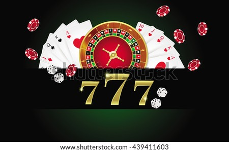 ?Poker design, cards and chips , casino games.