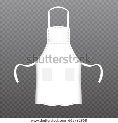 White Kitchen Apron kitchen apron stock images, royalty-free images & vectors